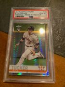 2 Kyle Tucker 2019 Topps Chrome Prism Refractor 39 Psa 10 Rookie Cards
