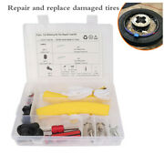 31pcs Tire Protective Cover Repair Kit Replacement Tool For Car Motorcycle