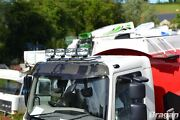 To Fit Volvo Fe 2013+ Stainless Steel Front Roof Light Bar C + Jumbo Spots X4
