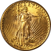 1926-p Saint-gaudens Gold 20 Pcgs Ms63 Great Eye Appeal Strong Strike