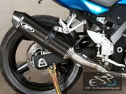 M4 Performance Motorcycle Exhaust Suzuki Sv 650 2003 Full System Carbon Can