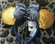 Disney Disneyland Club 33 Minnie Mouse Headband Ears New Sold Out 1st Edition