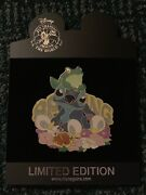 Disney Pin Jumbo Stitch Frog And Ducklings Spring Sparkle Le 300 Pins Set/lot