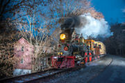 Steam Into History Northern Central 17 8x12 Print Metallic Paper