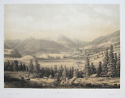 Mariazell Original Lithography Scale 1850