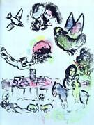 Marc Chagall Nocturne A Vence Lithograph