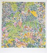 George Chemeche Ferns Screenprint Signed And Numbered In Pencil
