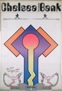 Peter Max Chelsea Bank Poster Poster Signed