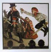 Norman Rockwell School Play Poster