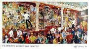 Leroy Neiman, Fx Mcrory's Whiskey Bar - Seattle, Poster, Signed In The Plate Pr