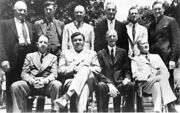 Unknown Artist 1939 Hall Of Fame Induction Babe Ruth Cy Young Eddie Collins