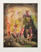 Roberto Matta, Nid De Noeds, Aquatint Etching On Arches Paper [signed And Number