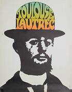 Peter Max Toulouse Lautrec Poster