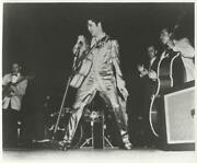 Unknown Artist, Elvis Singing With Band, Reproduction Photograph