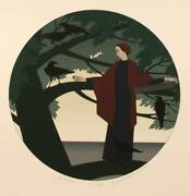 Will Barnet Ariadne Screenprint Signed And Numbered In Pencil