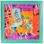 Bob Pardo, Carousel Horse, Screenprint, Signed And Numbered In Pencil