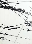 K.r.h. Sonderborg Untitled 1 Lithograph Signed And Numbered In Pencil