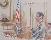 Marshall Goodman Day V. Meyer Duffy And Associates Watercolor On Paper