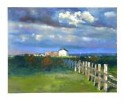 Chase Chen Chenoff, A Break In The Clouds, Lithograph, Signed In Pencil L.r.