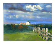 Chase Chen Chenoff A Break In The Clouds Lithograph Signed In Pencil L.r.