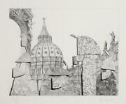 Hans-georg Rauch, Untitled 31, Etching With Aquatint, Signed And Numbered In P