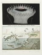 Tighe Oand039donoghue Bang - Apocotestatis Suite Etching With Aquatint Signed In P