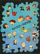 Laand039roy Fleming Daily News Oil On Canvas Board
