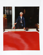 Curtis Knapp Andy Warhol Red Series 1 Color Photograph Signed And Numbered