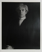 Curtis Knapp, Andy Warhol, Silver Print On Fiber Paper, Signed And Numbered In I