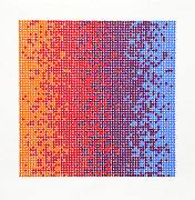 David Roth Untitled 7 Screenprint Signed And Numbered In Pencil