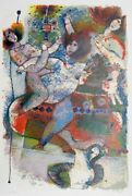 Theo Tobiasse La Lumiere Du Prophete Lithograph On Arches Signed And Numbered