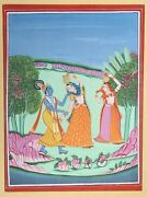 Unknown Indian Painting 21 Gouache On Paper