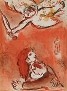 Marc Chagall The Maid Of Israel From Drawings For The Bible Lithograph