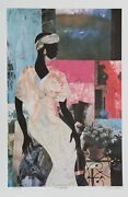 James Denmark Gardenia Lithograph Signed And Numbered In Pencil