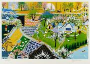 Kay Ameche Spring Fever Screenprint Signed And Numbered In Pencil