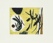 Henri Goetz, Untitled Ii, Aquatint Etching, Signed And Numbered In Pencil