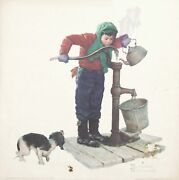 Norman Rockwell The Cold Poster