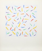 Antonio Peticov Light Explosion I Screenprint Signed And Numbered In Pencil