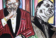 Frederick J. Brown Oscar Peterson Screenprint Signed And Numbered In Pencil