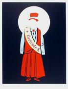 Robert Indiana, Gertrude Stein, Lithograph, Signed And Numbered In Pencil