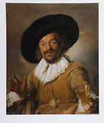 Frans Hals The Merry Drinker Poster