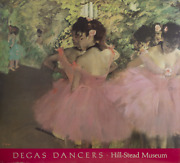 Edgar Degas Hill-stead Museum - Dancers In Pink Poster On Foam Core