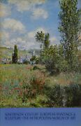 Claude Monet 19th Century European Paintings At The Met Poster Mounted On Boar