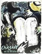 Marc Chagall Et La Bible Lithograph In Colors On Thin Wove Paper