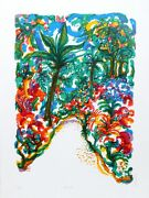 Ronald Julius Christensen Wild Path Screenprint Signed And Numbered In Pencil