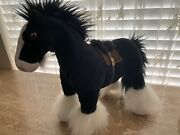 """Disney Store Plushbrave's Angus The Clydesdale Horse14"""" Never Played With"""
