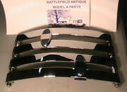 1930-1931 Model A Ford Rear Chrome Bumper Set With Stainless Steel Hardware