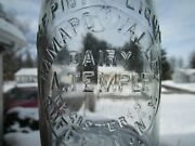 Trehp Milk Bottle Ramapo Valley Dairy A Temple Suffern Ny Rockland County 1932