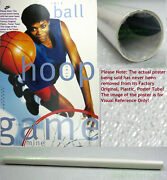 Nitf Old Stock Nike Poster ☆ This Game Is Mine ☆ Sheryl Swoopes Houston Comets