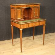 Writing Desk Antique Style Louis Xvi Work Table Furniture In Inlaid Wood 900